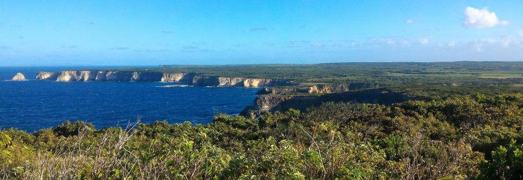 Norden von Guadeloupe