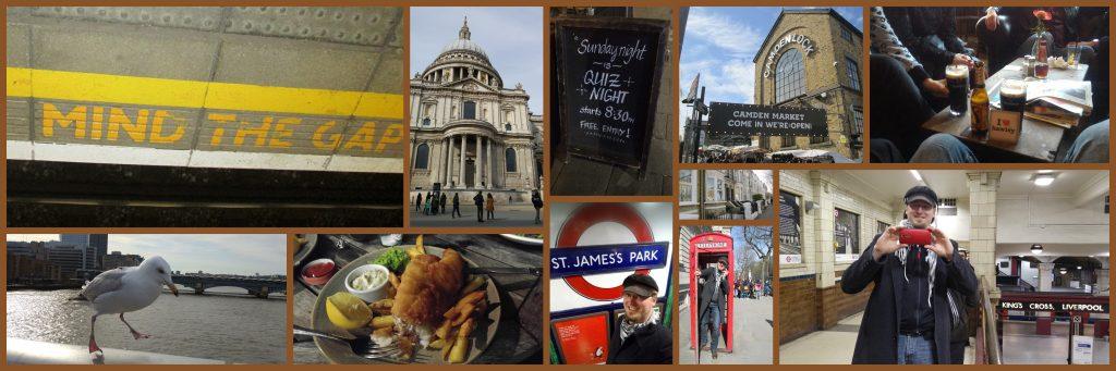 verschiedene Bilder aus London